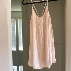 Cream colored Nordstrom ASTR dress